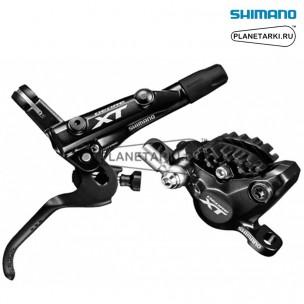 ТОРМОЗ ДИСКОВЫЙ ЗАДНИЙ SHIMANO XT M8000, черный, IM8000RRXSA170