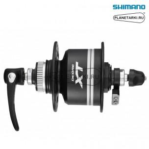 динамо-втулка передняя shimano xt dh-t785 черный, edht7853alg
