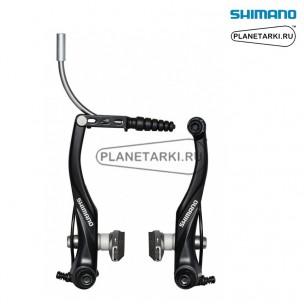ТОРМОЗ V-BRAKE ЗАДНИЙ SHIMANO ALIVIO BR-T4000, черный, EBRT4000RX43SLP