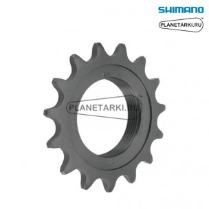 звезда ведомая shimano dura-ace track ss-7600 16t, y27916000