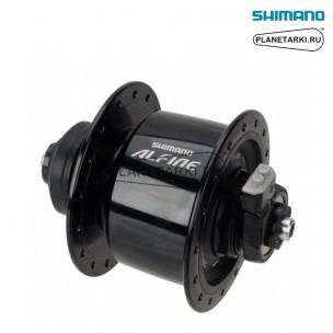 динамо-втулка shimano alfine dh-s501 32отв, черный, edhs501bl