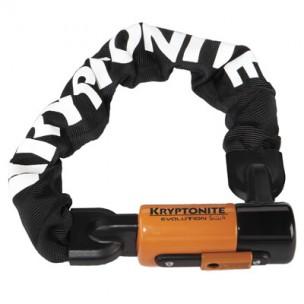 цепь kryptonite evolution series 4 1055 mini integrated chain 55 см