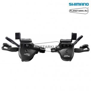 шифтер shimano xtr m9000, пара, 2/3х11 ск., черный, islm9000ipa