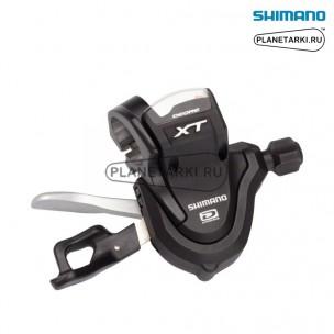 шифтер shimano deore xt m780, правый, 10 ск., черный, islm780rap