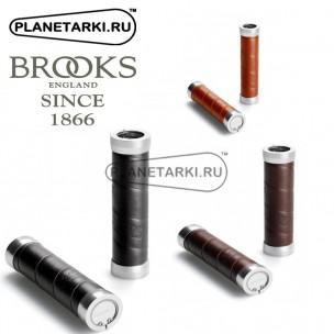 Грипсы Brooks Slender Leather (130X130Mm)