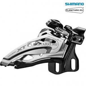 переключатель передний shimano deore xt m8020-e черный, ifdm8020e6x