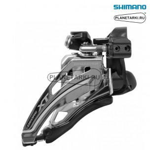 переключатель передний shimano deore xt m8020-l черный, ifdm8020lx6