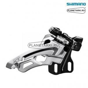 переключатель передний shimano deore xt m8025-e черный, ifdm8025ed6x
