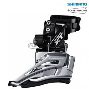 переключатель передний shimano deore xt m8025-h черный, ifdm8025hx6
