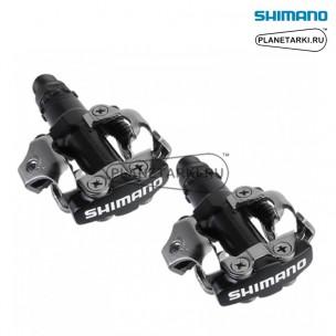 педали shimano pd-m520 черные, epdm520l