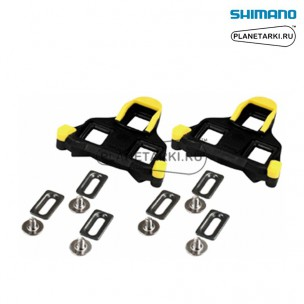 шипы shimano sm-sh11 желтые, y42u98010