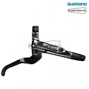 тормозная ручка правая shimano xtr m9000 серебро, iblm9000r