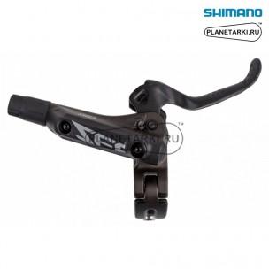тормозная ручка правая shimano m640-b черная, iblm640br