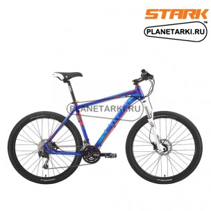 Велосипед Stark Surfer Race 650B 2015 синий/оранжевый