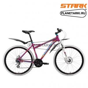 Велосипед Stark Antares HD 2016 розово-желтый