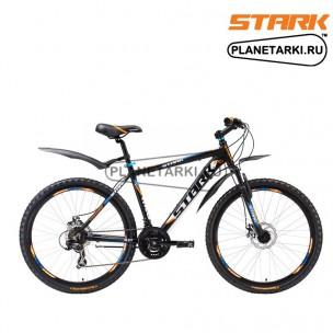 Велосипед Stark Hunter Disc 2016 черно-оранжевый