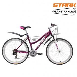 Велосипед Stark Indy Lady 2016 фиолетово-розовый