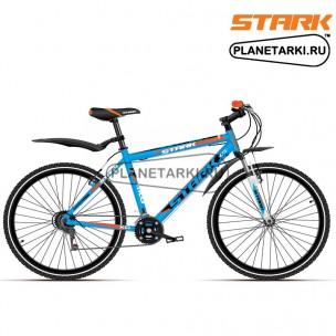 Велосипед Stark Outpost 2016 сине-оранжевый