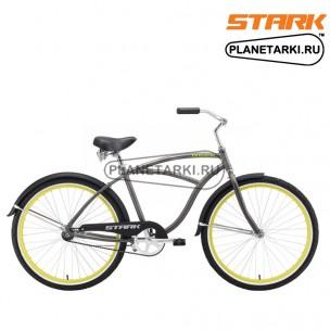Велосипед Stark Reef 2016 серо-зеленый