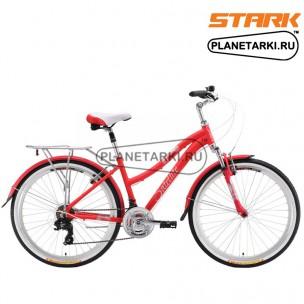 Велосипед Stark Satellite Lady 2016 розово-серебристый