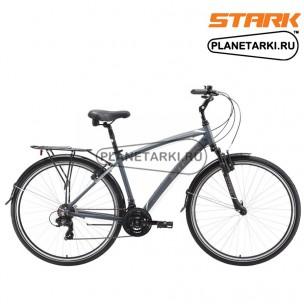 Велосипеды Stark Terros Multispeed 2016 темно-серый