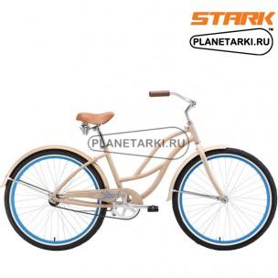 Велосипед Stark Wave 2016 кремово-голубой
