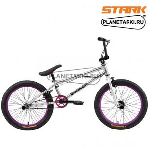 Велосипед Stark Zonker 2016 стальной-черный