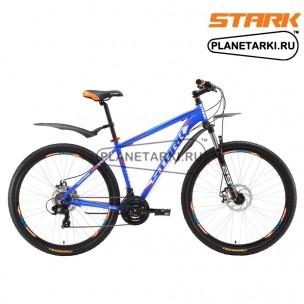 Велосипед Stark Hunter 29.2 D 2017 сине-оранжевый