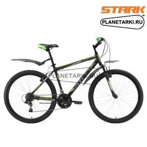 Велосипед Stark Respect 26.1 V 2017 черно-зеленый