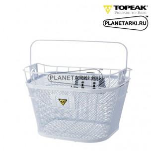 Корзина передняя на руль Topeak Basket white