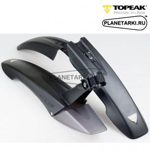 "Комплект крыльев Topeak DeFender FX/RX 26"" black"