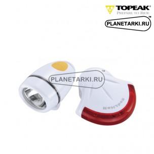 Комплект фонарей Topeak HighLite Combo II white