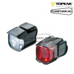 Комплект фонарей Topeak HighLite Combo Race black