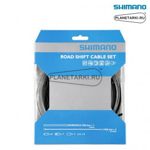 Трос и оплетка переключателя Shimano SP41, черный, Y60098022