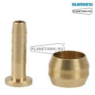 Оливка + трубка для SHIMANO SM-BH59, KSMBHD1040