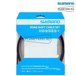 Трос и оплетка переключателя Shimano SP41, черный, Y60098021