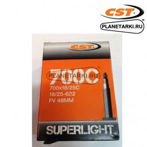Камера CST Superlight 700x18/25C Presta 48 мм, IB69834700