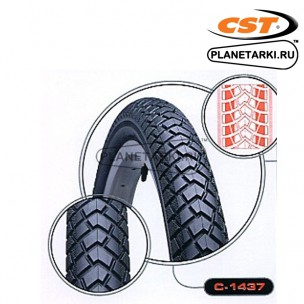 Покрышки CST Comfort MTB C1437 26x2.1 black, TB70268000