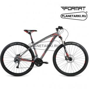 """Велосипед Format 1411 29"""" 2016 серый"""